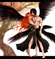 Lilith and Lucifer by ArtBunneh