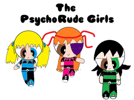 A.T The PsychoRude Girls by pedrom123