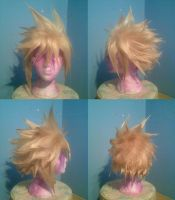 Cloud wig by jenova-phobia