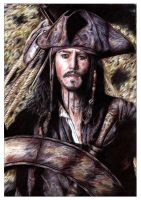 Jack Sparrow - Coloured by leiaskywalker83
