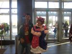 Me with Akiko at Nekocon 17 by ChaoticFeline