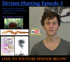 Deviant-Hunting Youtube Series Ep.5 - Art Showcase by ImportAutumn