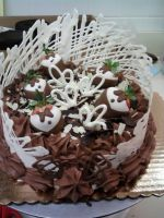 8 in Decadent Chocolate Cake by Larissa-Rasputin