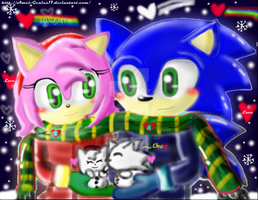 Sonamy = winter date = by Amel-Genius17