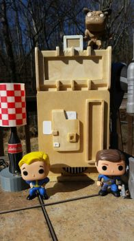 Nuka-Cola Machine WIP by thebluecanary