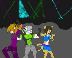 dancing ravers by kristofferson89