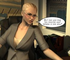 Penelope - Working Late 12 by Torqual3D