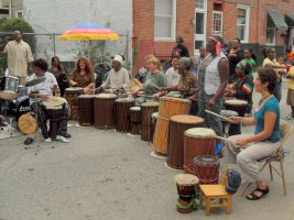 Music Over Matter Percussion by Melalina