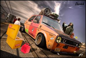 Golf mk1 Rat Style by Dariich by Dariich