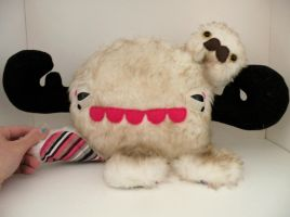 BIG custom monstro and lump by loveandasandwich