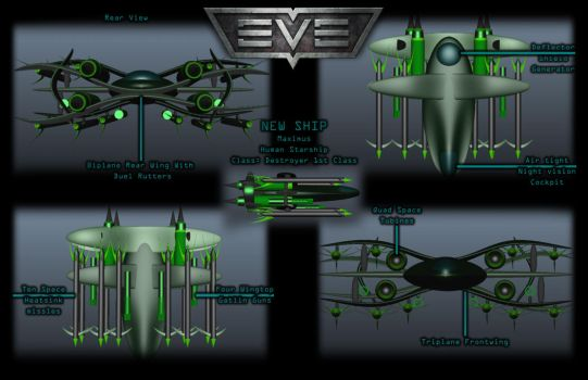 Spacefighter by MaximusNights