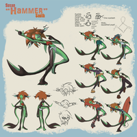 Hammer Reference Sheet by vgfm