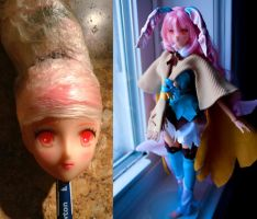 Pia Rune Factory custom doll repaint! by AquaticMight