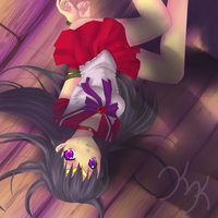 Sailor Mars by KnockyKnocky