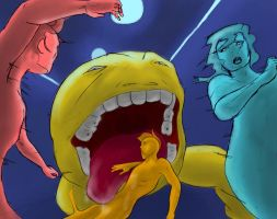 Monster Pacman by Mister-23