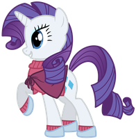 Rarity Winter by PhilipTomkins