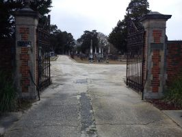 tuskegee cemetary entrance by calicojack78