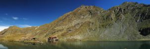 Balea Lake Panorama by virus3l