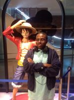 Me with Monkey D. Luffy by ltdtaylor1970