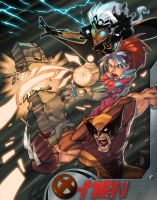 X-men Are Go by Zatransis