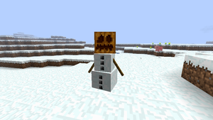 Minecraft - Snowman by Ludolik
