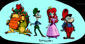 The Mario 1 Buds by CRLryanstorm