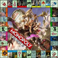Final Fantasy XIII Monopoly Board by BellaTytus