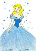 Lily James As Cinderella by AnneMarie1986
