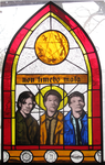 SPN stained glass window by tripperfunster