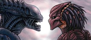 Alien vs. Predator by edcomics