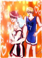 I'll Bring You to the Light_Kagami, Kuroko, Kise by charista