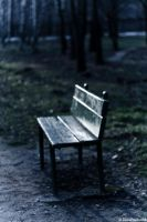 I stood waiting by LuciaConstantin