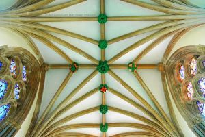 Bishop's Chapel Ceiling by EarthHart