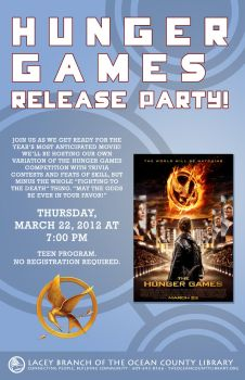 Hunger Games Release Party by Mazzy12345