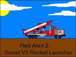 Soviet V-3 launcher - RA2 by mpcp13