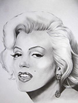 Marylin Monroe by Megneoulie