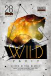 Wild Party Flyer by iorkdesign