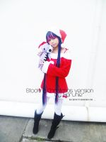 stocking christmas version cosplay by xeccentricity