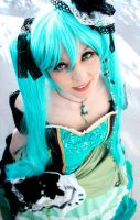 Miku : Daughter of Green by princess-soffel