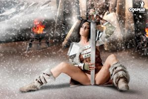 Skyrim cosplay by cosplayerotica