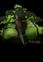 Earth Kingdom Korra by roxnsox