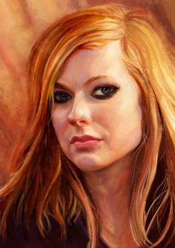 Portrait Painting by SYsheep