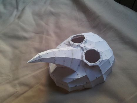 Plague doctor mask by Haru89ka