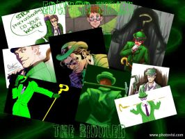 Riddler Collage by EnigmaOfRiddles