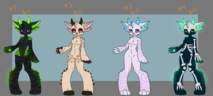 Monster Adopts 2 + $10 Each by SnuggieBoo