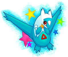 Chibi Latios by NekoZdemon