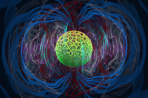Magnetosphere by 0bsidianFire