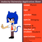 AU Application: Muron-the-stingray by ricol-wildcat