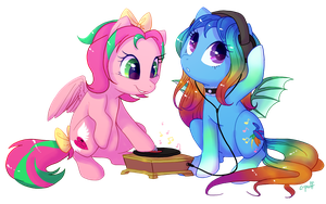 Commission: Precious Metal and Sweet Paradise by C-Puff
