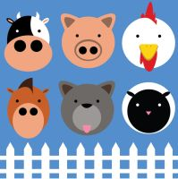 Barnyard Icons by coolstergraphics